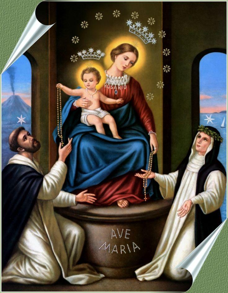 Milagrosa Virgen del Rosario de Pompeya