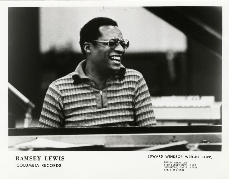 """detroitlib: """"  Ramsey Lewis (born May 27, 1935) American jazz composer, pianist and radio personality. Ramsey Lewis has recorded over 80 albums and has received seven gold records and three Grammy Awards so far in his career. (Wikipedia) Portrait of..."""