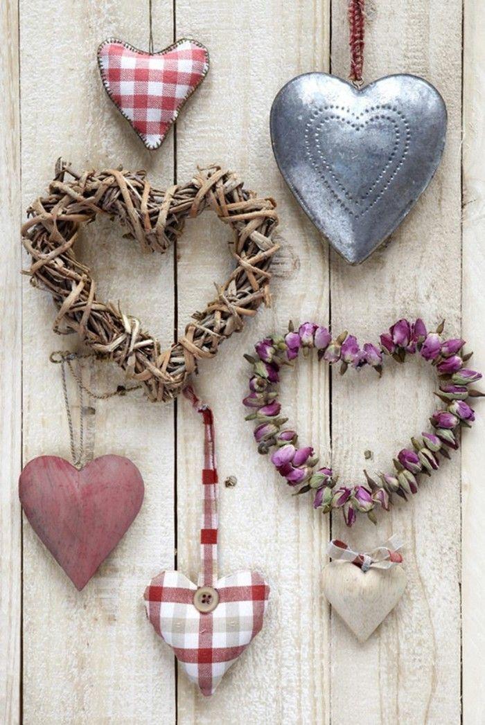 Great alles liebe zum valentinstag herzen wanddeko ideen