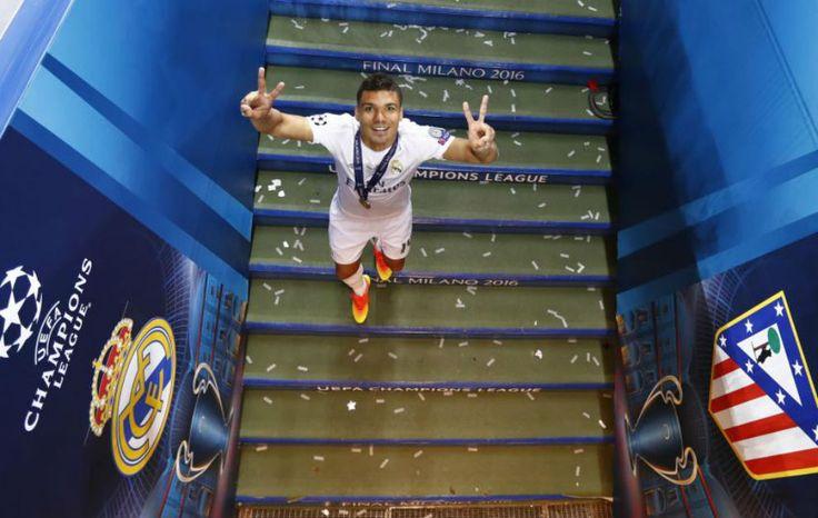 ..._Casemiro. Final Champions 2016 . La Undecima. REAL MADRID +