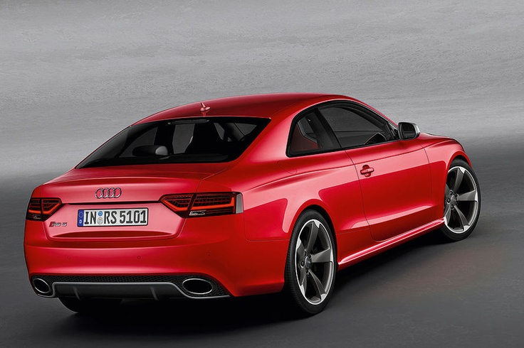Audi starts selling the RS5 Coupe for about $70.000 base