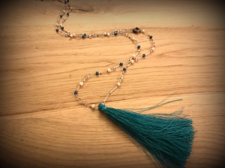 A personal favourite from my Etsy shop https://www.etsy.com/listing/515921065/tassel-beaded-rosaryhandmade