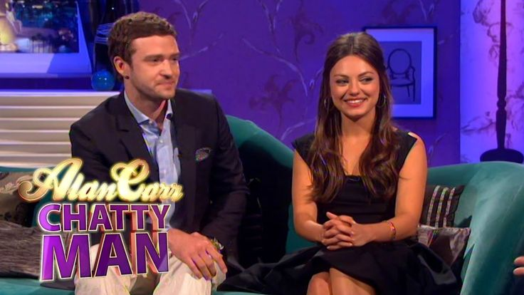 Justin Timberlake & Mila Kunis - Full Interview on Alan Carr: Chatty Man