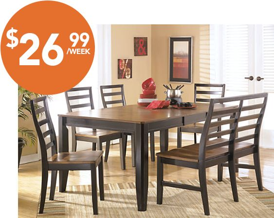 Majik Rent to Own rents and sells furniture  appliances  TVs  computers  with 90 and 180 days same as cash options available  No credit necessary. 1000  images about Dining on Pinterest