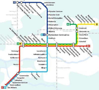 Marconiplein Metro transport Pinterest Rotterdam