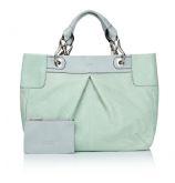 New Spring Summer Lupo Barcelona1100362 Panama Aqua & Grey Grab Bag