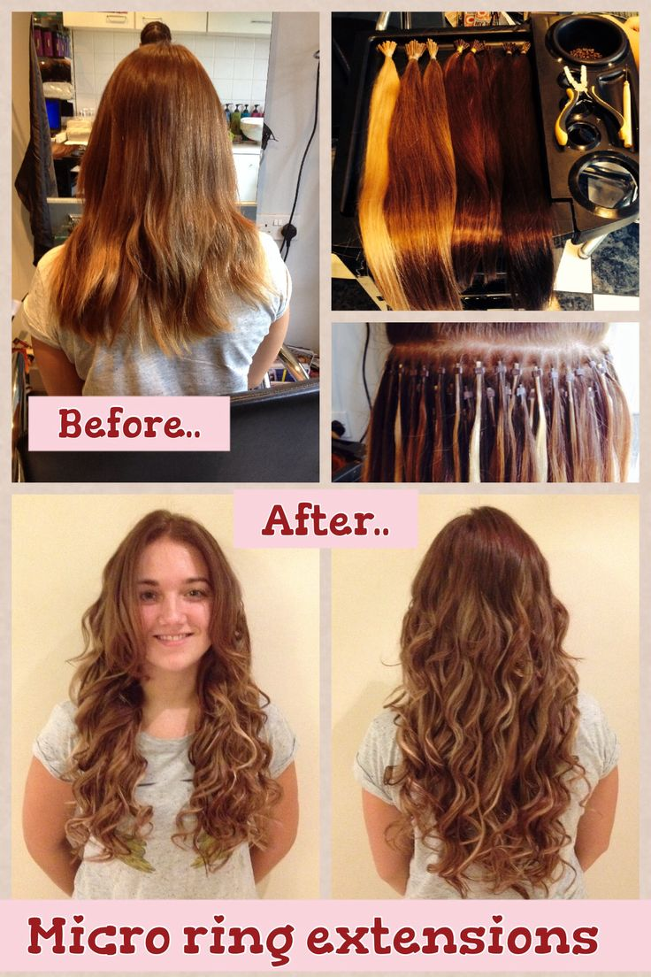 Micro Ring Hair Extensions Kent 6