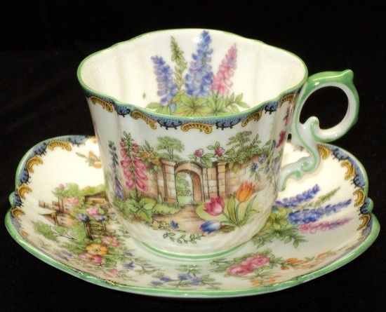 Secret Garden: 427 Best Images About Beautiful Cups And Saucers On