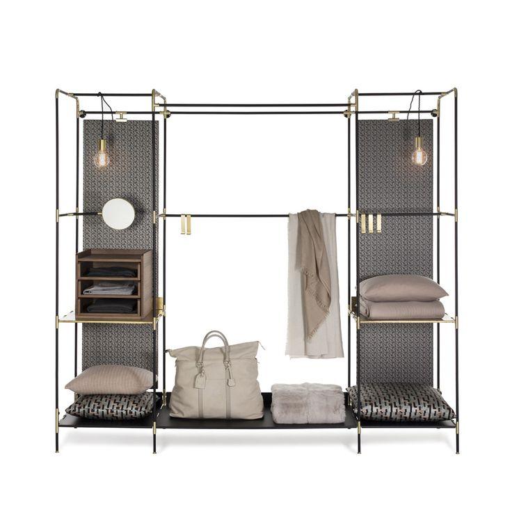 Cabine armadio: Cabina armadio Prêt-à-porter da Redaelli Ivano