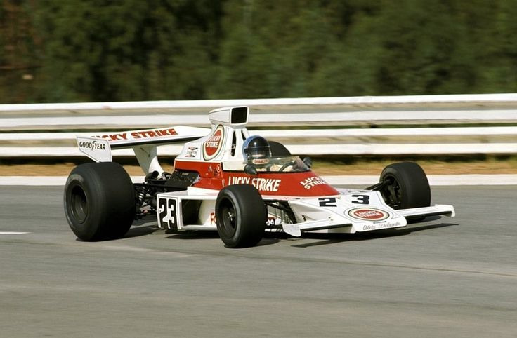 Dave Charlton, Scribante Lucky Strike Racing, McLaren-Ford, Kyalami, South Africa 1974