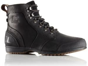 Sorel Men's Ankeny Mid Hiker Boots - Black/Tobacco - 9The winter is coming and the Sorel Men's Ankeny Mid Hiker Boots are a wondrous pair to stock up on. Treat your feet to incredible warmth and an advanced waterproof full-grain leather upper for durability and style.   Boots . Lace-up construction. Seam sealed waterproof construction . Waterproof full-grain leather upper with textile mesh lining . Removable molded EVA footbed with heel cup and arch support . Textile mesh top cover . Rubber…
