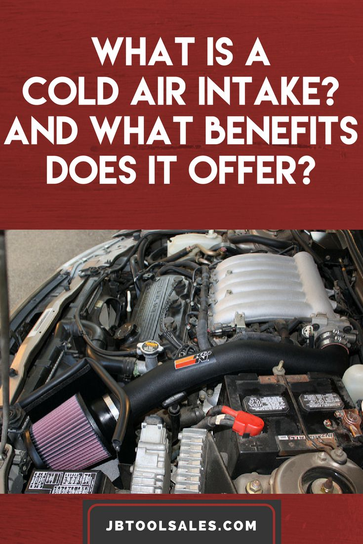 What Is a Cold Air Intake? And What Benefits Does It Offer