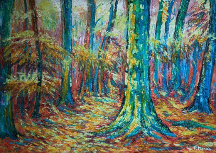 Olej 50 x 70 cm, Pavel Huszár, Banská Bystrica, Slovakia