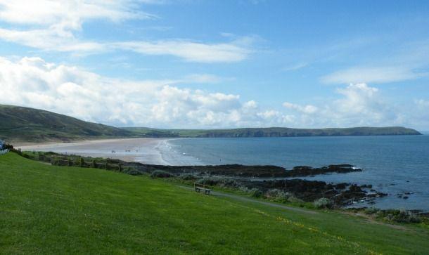 North Devon: Verity, pasties and sandcastles