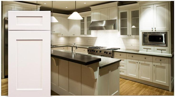 Real Wood Wholesale Kitchen Cabinet Package White Shaker