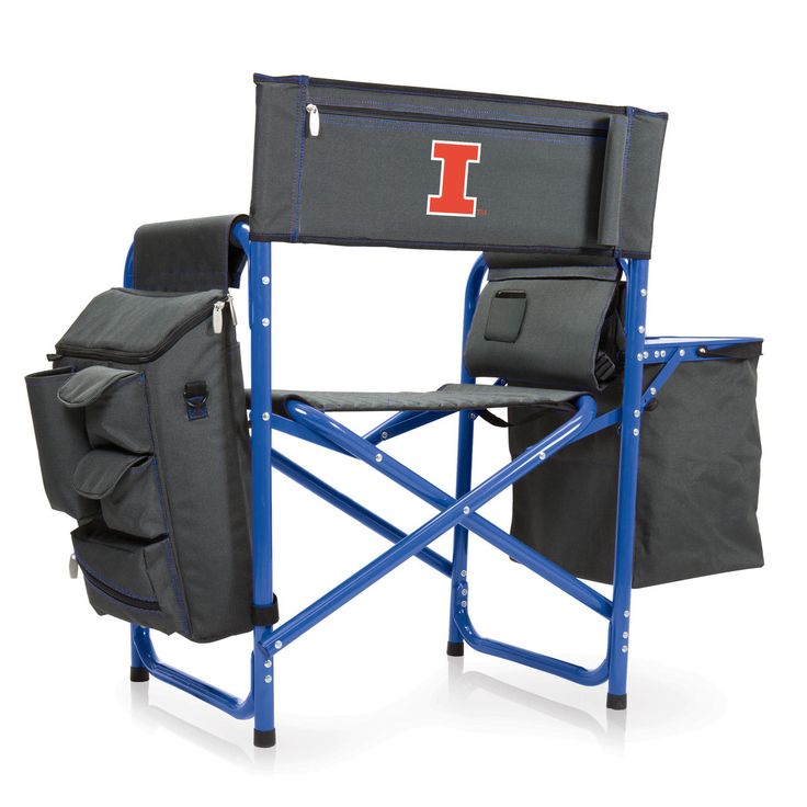 College Logo Stuff - Illinois Fighting Illini Fusion Tailgating Chair, $149.95 (https://collegelogostuff.com/illinois-fighting-illini-fusion-tailgating-chair/)
