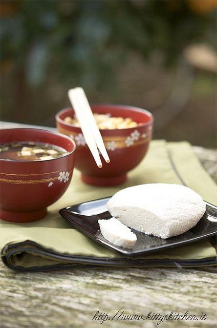 Italian recipes... Come fare il tofu in casa