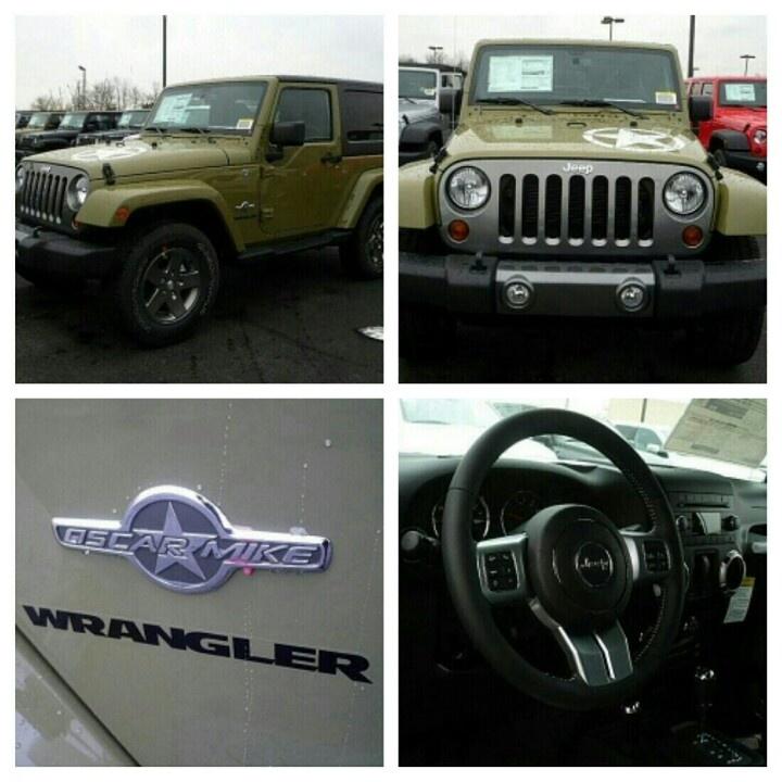 Jeep Wrangler Oscar Mike 2013