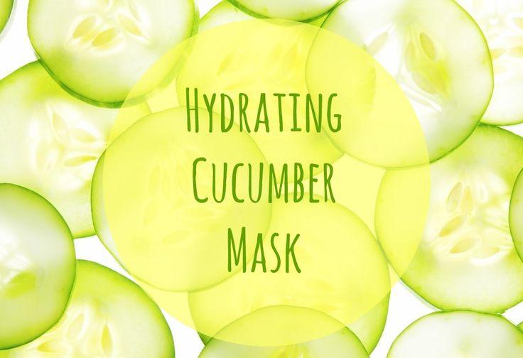 Hydrating Cucumber Mask – Mascarilla de Pepino