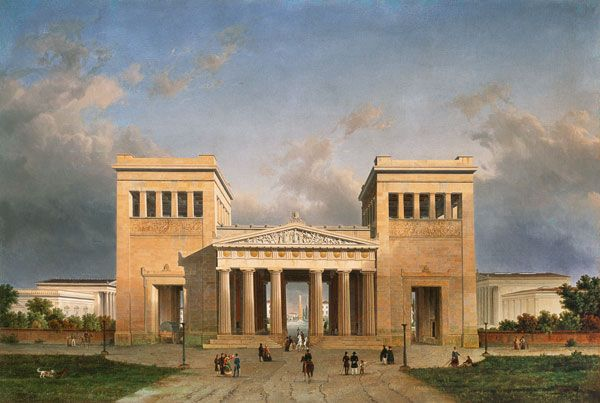 the life and art works of leo von klenze Leo von klenze a day in the life of an ancient athenian citizen uncouth von  klenze was not only an architect, but also an accomplished painter and.