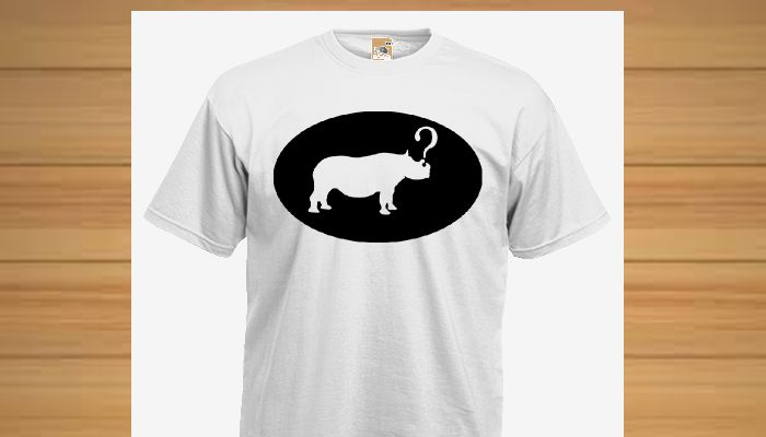 10% of the profits from this run of t-shirts will be donated to the International Rhino Foundation. Please support this good cause.