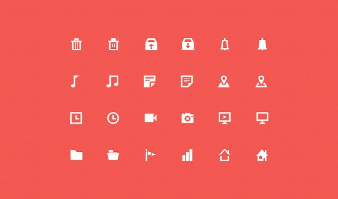 11 High Quality Flat Icon Sets   You And Saturation