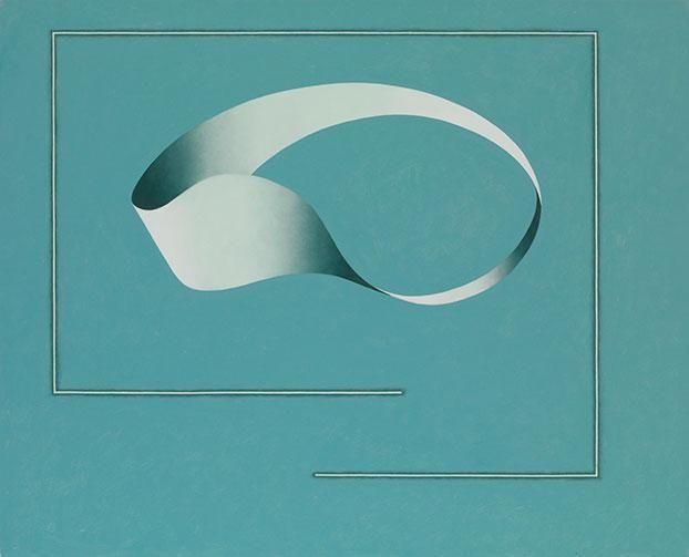 Juhana Blomstedt: Untitled, 2008, oli on canvas, 81x100 cm - Galerie Anhava