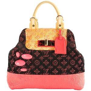 Louis Vuitton Limited Edition Firebird Satchel Handbag