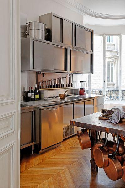 17 meilleures id es propos de cuisine en cuivre sur for Meilleures cuisines integrees