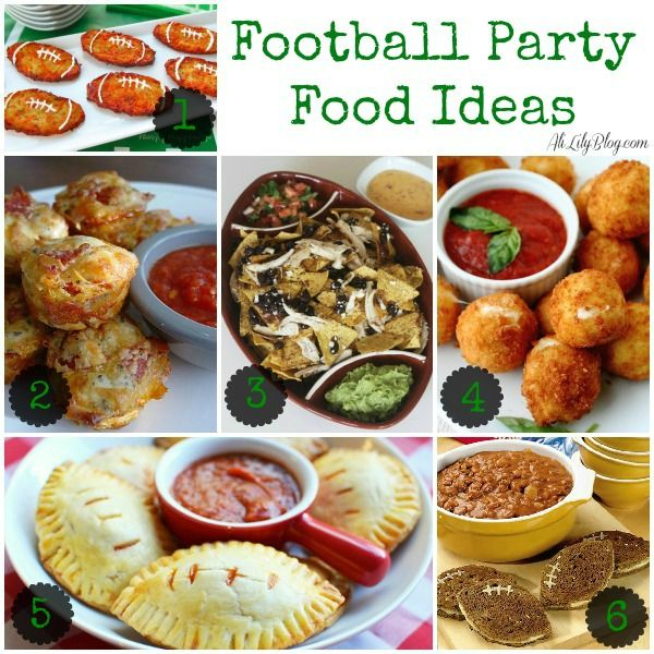 42 Fantastic Football Party Ideas