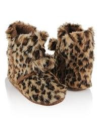A must in the winter, a pair of slipper booties. So warm and comfy to lounge in.