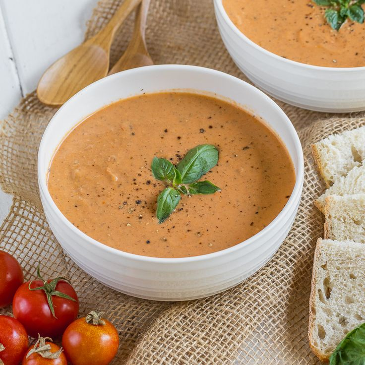 Some days we crave something fresh and simple for dinner, so we came up with this recipe for just that. This easy and healthy vegan tomato soup is flavorful, creamy, requires just six simple ingredients and is ready in under an hour!This is definitely one of the easiest recipes we have made and we will...Read More »
