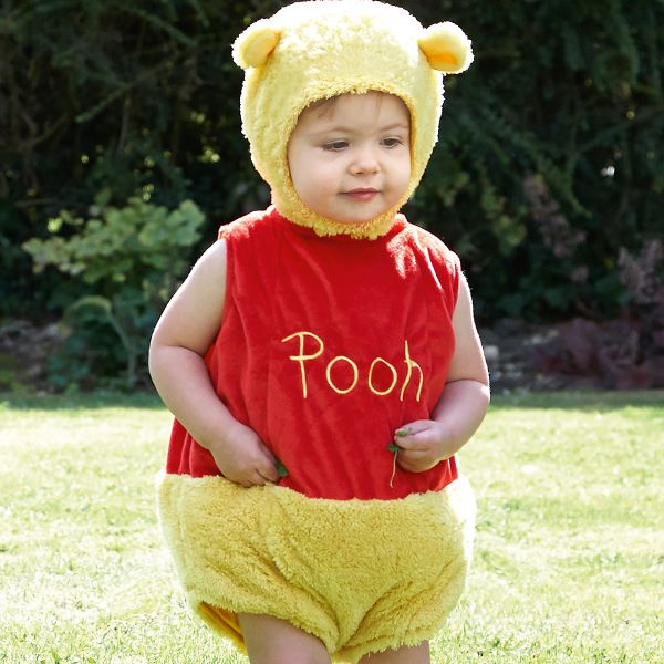 Disney Baby - Winnie the Pooh Tabard with Feature Hat