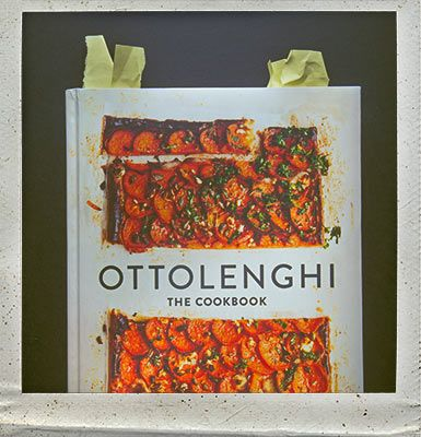 Ottolenghi Cookbook: cooking with vegetables