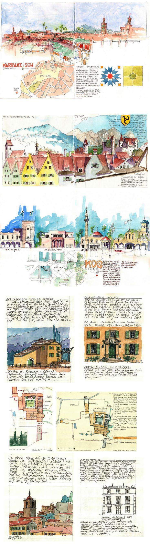 Travel Journal  -  Jochen Schittkowski   #urban  #sketch      https://www.flickr.com/photos/127217696@N02/with/17074447880/