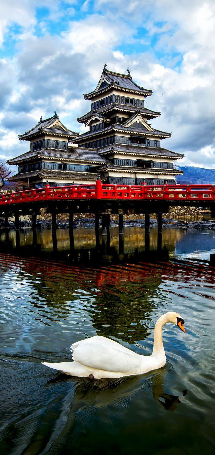 Castillo Matsumoto, Japón. Belleza y Armonía.