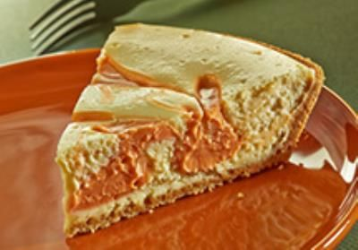 HERSHEY'S KISSES Pumpkin Spice Swirl Cheesecake Pie #LoveandKISSES # ...