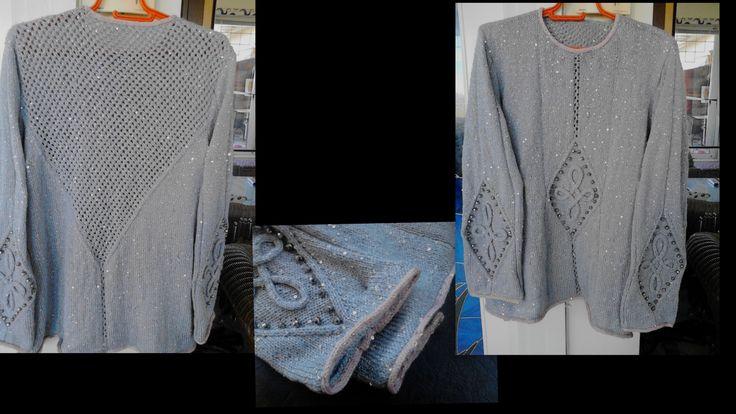 specially designed by me for Ravellenics 2014    Την σχεδίασα και την έπλεξα  αποκλειστικά για τους Ravellenics 2014