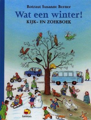 Wat een winter! Volg verschillende personages doorheen een winterse dag in dit kijk- en zoekboek voor alle leeftijden.
