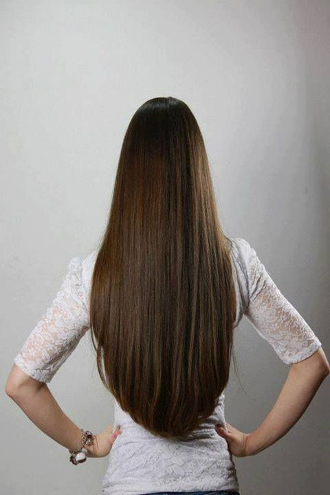 Long rounded v hair cut - ok, found my next hair cut!