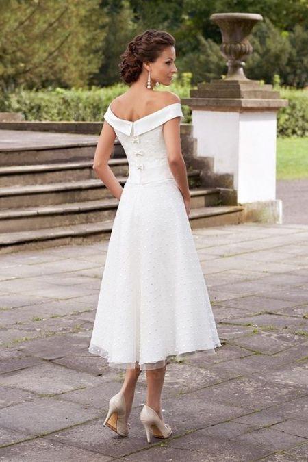 Bekommen Gratis Brautkleid Standesamt Kleid Knielang 2020
