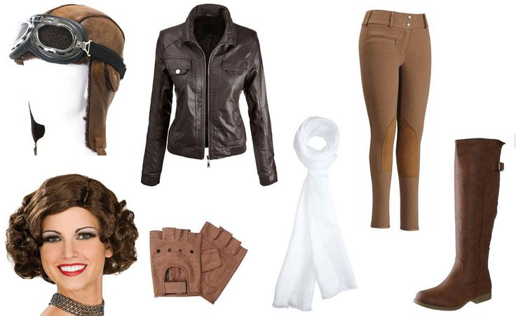 Amelia Earhart Costume