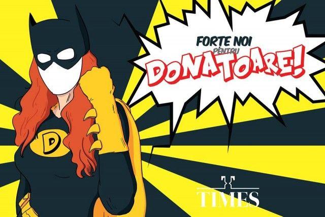 TIMES premiaza donatorii cu o masa copioasa