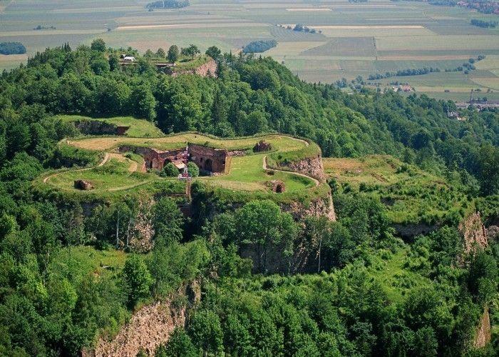 Twierdza Srebrna Góra, Góry Sowie (Polska).