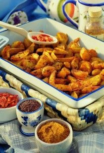 indické brambory