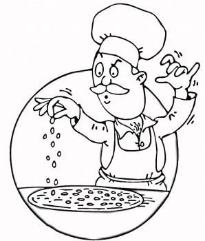 41 best Chefs images on Pinterest Colouring pages Kitchen and Draw