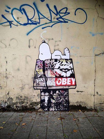 Artist: OBEY #streetart