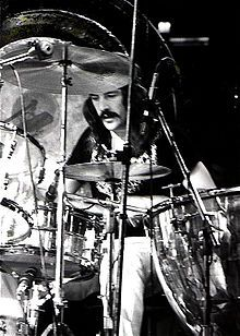"John Henry Bonham (31 May 1948 – 25 September 1980) was an English musician and songwriter, best known as the drummer of Led Zeppelin. Bonham was esteemed for his speed, power, fast right foot, distinctive sound, and ""feel"" for the groove He is widely considered to be one of the greatest drummers in the history of rock music.Bonham Choked on his own vomit after consuming forty shots of vodka."
