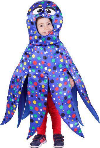 Disfraz de pulpo para niño