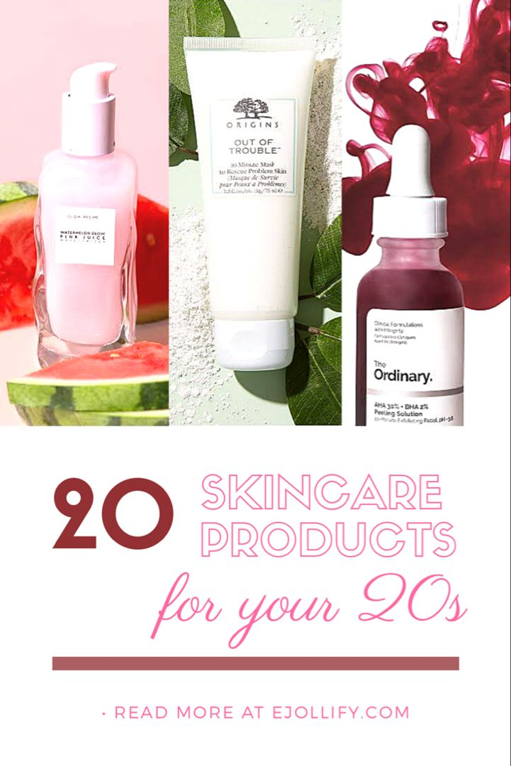 20 Best Skin Care Products For Your 20s